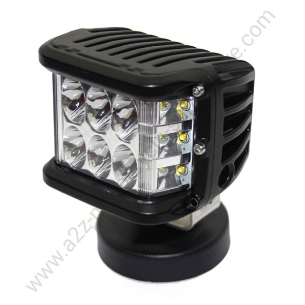 Motorcycle led light kit bike led auxiliary lights online 27w led light bar pair left right aloadofball Choice Image