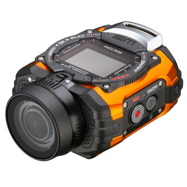 RICOH WG-M1 ORANGE ADVENTURE CAMERA